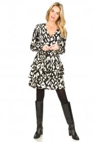 Sofie Schnoor |  Ruffle skirt Shalyla | black  | Picture 2