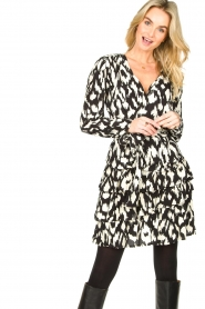 Sofie Schnoor |  Ruffle skirt Shalyla | black  | Picture 5