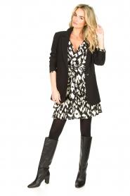 Sofie Schnoor |  Ruffle skirt Shalyla | black  | Picture 3
