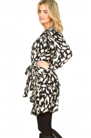 Sofie Schnoor |  Ruffle skirt Shalyla | black  | Picture 6