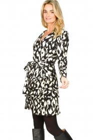 Sofie Schnoor |  Ruffle skirt Shalyla | black  | Picture 4