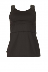 Goldbergh |  Bra top with lurex Zoeli | black  | Picture 1