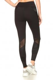 Goldbergh |  Luxurious sport legging Zamora | black  | Picture 7