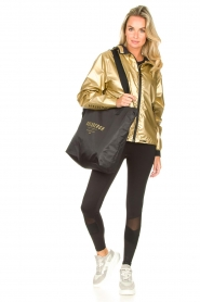 Goldbergh |  Luxurious sport legging Zamora | black  | Picture 2
