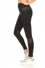 Goldbergh |  Luxurious sport legging Zamora | black  | Picture 5