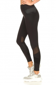 Goldbergh |  Luxurious sport legging Zamora | black  | Picture 5