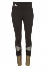 Goldbergh |  Luxurious sport legging Zamora | gold