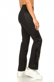 Goldbergh |  Flared sport sweatpants Zefira | black  | Picture 5