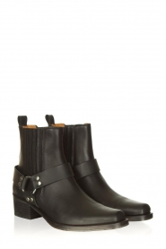 Toral :  Leather ankle boots Nikki | black - img4