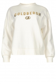 Goldbergh |  Luxurious logo sweater Flavy | white  | Picture 1