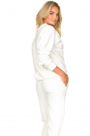 Goldbergh |  Luxurious logo sweater Flavy | white  | Picture 8