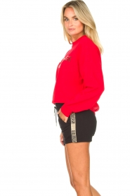 Goldbergh |  Luxurious logo sweater Flavy | red  | Picture 5