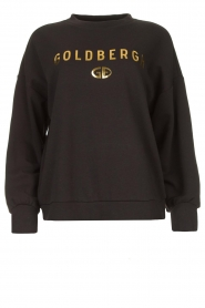 Goldbergh |  Luxurious logo sweater Flavy | black  | Picture 1