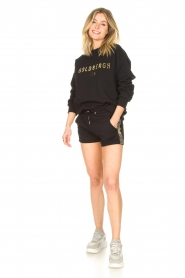 Goldbergh |  Luxurious logo sweater Flavy | black  | Picture 3