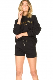 Goldbergh |  Luxurious logo sweater Flavy | black  | Picture 4