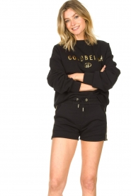 Goldbergh |  Luxurious logo sweater Flavy | black  | Picture 2