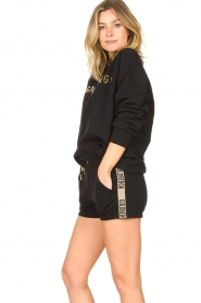 Goldbergh |  Luxurious logo sweater Flavy | black  | Picture 6