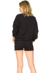 Goldbergh |  Luxurious logo sweater Flavy | black  | Picture 7