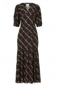 Second Female |  Floral maxi dress Solo | black  | Picture 1