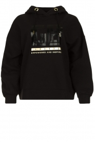 Goldbergh |  Luxurious logo sweater Fiza | black  | Picture 1
