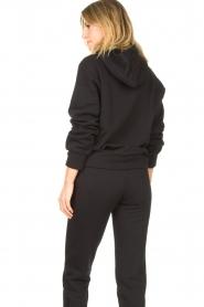 Goldbergh |  Luxurious logo sweater Fiza | black  | Picture 8