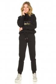 Goldbergh |  Luxurious logo sweater Fiza | black  | Picture 3