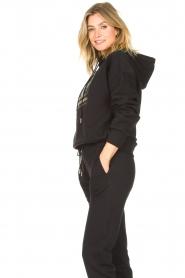 Goldbergh |  Luxurious logo sweater Fiza | black  | Picture 7
