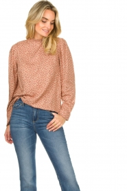 JC Sophie    Floral blouse Femy   pink    Picture 4