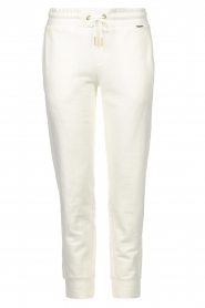 Goldbergh |  Sport sweatpants Fania | white  | Picture 1