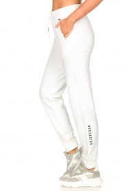Goldbergh |  Sport sweatpants Fania | white  | Picture 5