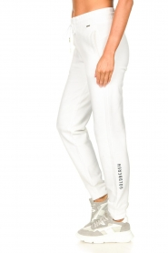 Goldbergh |  Sport sweatpants Fania | white  | Picture 6