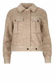 JC Sophie |  Short coat Ethan | brown  | Picture 1