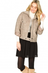 JC Sophie |  Short coat Ethan | brown  | Picture 2