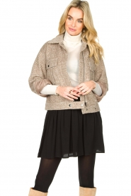 JC Sophie |  Short coat Ethan | brown  | Picture 5
