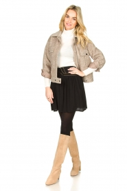 JC Sophie |  Short coat Ethan | brown  | Picture 6