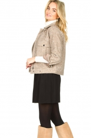 JC Sophie |  Short coat Ethan | brown  | Picture 3