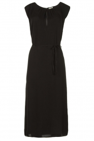 JC Sophie |  Midi dress with shoulder pads Fergie | black  | Picture 1