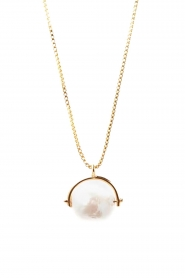 Mimi et Toi |  18k gold plated necklace Aélys | gold  | Picture 1