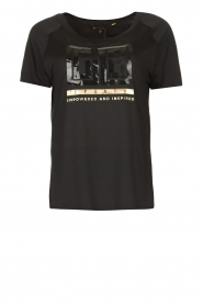 Goldbergh |  Logo T-shirt Dominik | black  | Picture 1