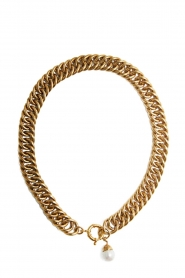 Mimi et Toi |  18k gold plated necklace Eglise | gold  | Picture 1