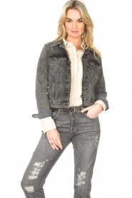 Set |  Denim jacket Chloé | dark grey  | Picture 2