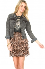 Set |  Denim jacket Chloé | dark grey  | Picture 6