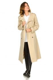 Set |  Oversized trench coat Cis | beige  | Picture 4