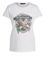 Set |  T-shirt with print Eagle | white  | Picture 1