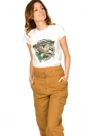 Set |  T-shirt with print Eagle | white  | Picture 4