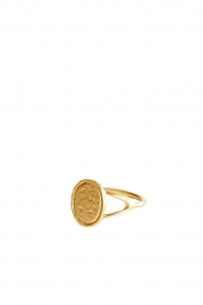 Mimi et Toi |  18k gold plated ring Piaf | gold  | Picture 1