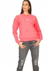Notes Du Nord |  Sweatshirt Wade | pink  | Picture 2