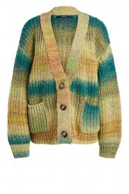 Set |  Chunky knit cardigan Faja | multi  | Picture 1