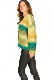 Set |  Chunky knit cardigan Faja | multi  | Picture 6