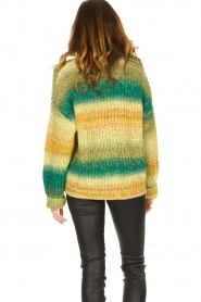 Set |  Chunky knit cardigan Faja | multi  | Picture 7